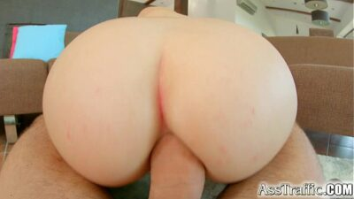 Teen With Big Tits Gets Her Ass Fucked