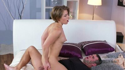 Tight Ass Milf Gets Anal Fucked In Bedroom
