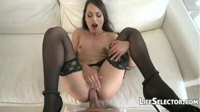 Cute Brunette Enjoys Being Fucked In The Ass – Nomi Melon