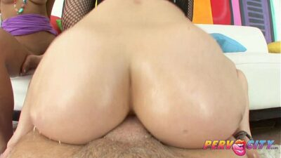 Krissie And Proxy Asian Anal Threesome