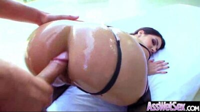 Deep Anal Sex With Big Round Butt Oiled Hot Girl