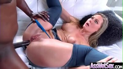Anal Sex With Horny Big Butt Oiled Girl (Addison Lee) video-01