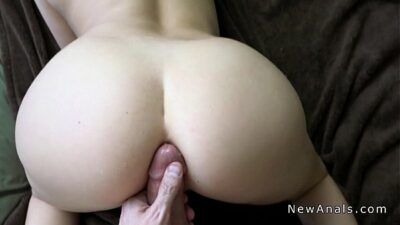 Big ass girlfriend anal banged pov