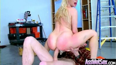 Slut Naughty Oiled Girl (Ashley Fires) With Big Round Butts Love Anal Sex movie-06