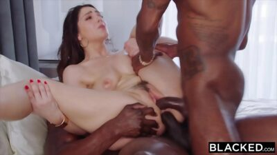 BLACKED Hubby doesn't know she's getting DP'd on vacation