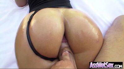 Hard Anal Bang With Big Curvy Butt Girl (kelsi monroe) movie-15