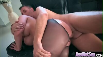 Hard Deep Anal Sex With Big Oiled Ass Girl (Brooklyn Chase) clip-10