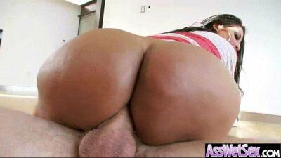 (kiara mia) Big Wet Butt Girl Love Hard Deep Anal Sex video-19