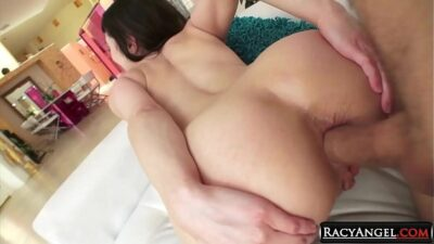 Nasty POV-style Ass to Mouth Pounding of Sweet Brunette Audrey Noir She Sucks Mick Blue's Cock A2M