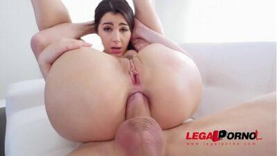 Italian Pornstar Valentina Nappi DP'ed so HARD she cums like Crazy