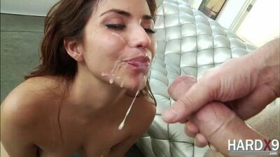 Damn babe Isabella is fucked in the ass by Manuels giant prick