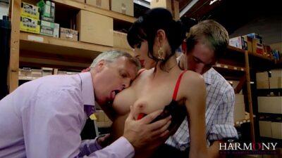 Franki, the hottest MILF working slut