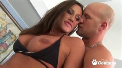 Sky Taylor Rides On The Pool Guys Cock