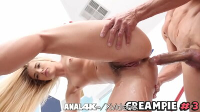 ANAL4K Wide Ass Filled With Multiple Leaking Creampies