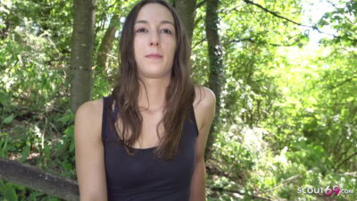 German Scout – Rough Outdoor Anal For Virgin 18 Teen Svetlana At Real Pickup Casting