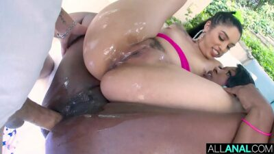 ALL ANAL Skyler and Vanessa both get ass fucked