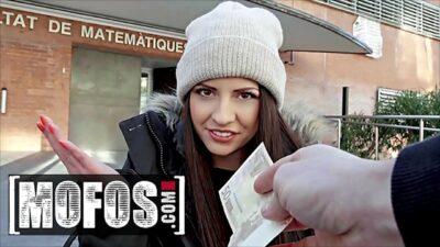 Italian Teen (Rebecca Volpetti) Getting Her Ass Fucked In Public – MOFOS