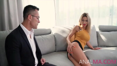 The Anal Debt Collection From MILF – Shalina Devine